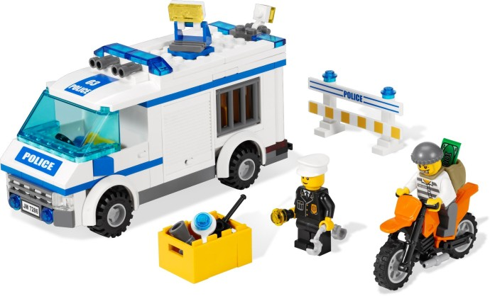 7286 1 Prisoner Transport Brickset Lego Set Guide And Database
