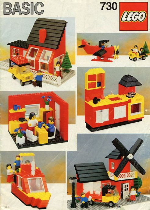 730 2 basic building set 7 brickset lego set guide and database. Black Bedroom Furniture Sets. Home Design Ideas