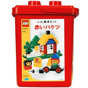 Изображение набора Лего 7336 Foundation Set - Red Bucket