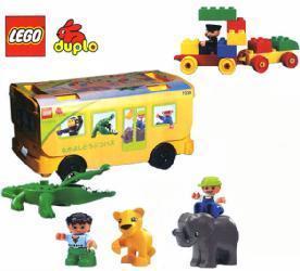 Изображение набора Лего 7339 Friendly Animal Bus