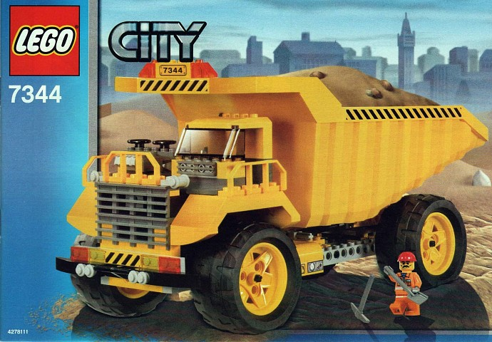 City Tagged Dump Truck Brickset Lego Set Guide And Database