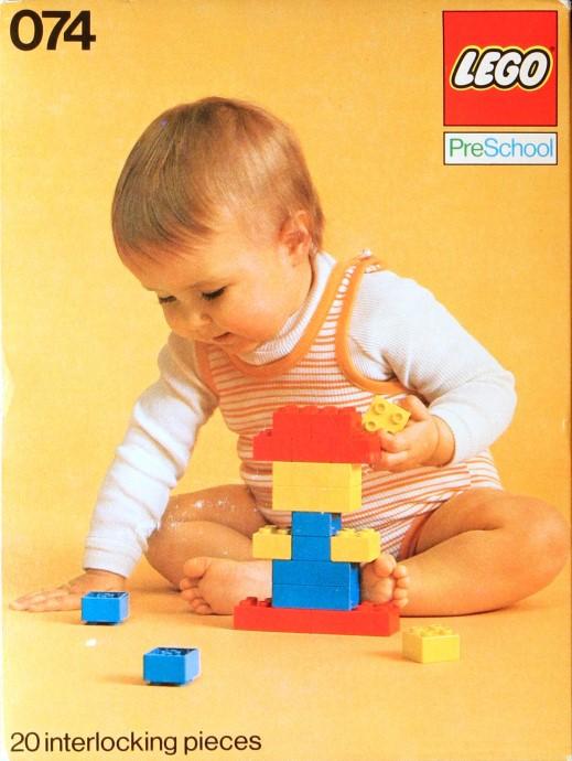 Изображение набора Лего 74 PreSchool Set
