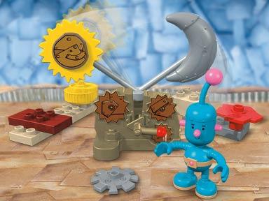 Изображение набора Лего 7435 Tiny's Day and Night Lever