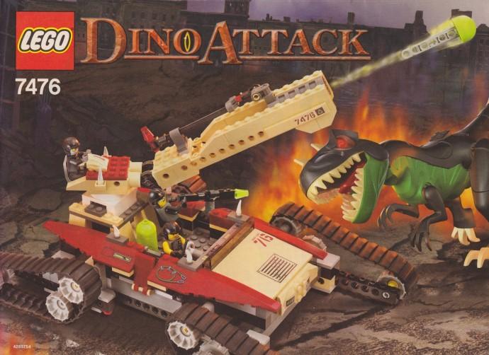 Изображение набора Лего 7476 Iron Predator vs. T-Rex