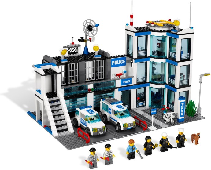 7498 1 Police Station Brickset Lego Set Guide And Database