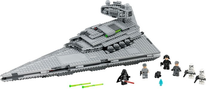 Star Destroyers Eight Years Difference Lego