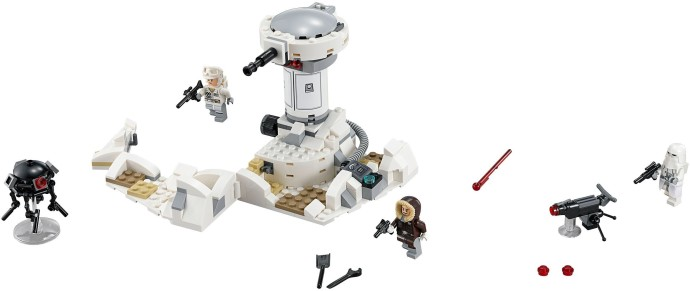 lego hoth attack instructions