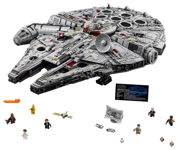 75192 Millennium Falcon available again! | Brickset: LEGO set guide ...