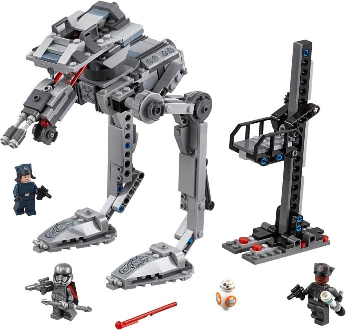 "Lego Star Wars 75201 First Order AT-ST.... a ""fél"" készlet"