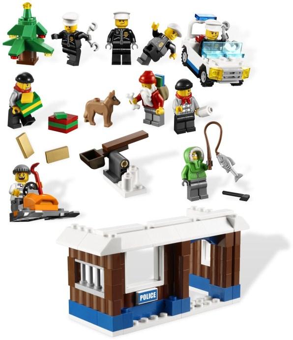 7553-1: City Advent Calendar   Brickset: LEGO set guide and database