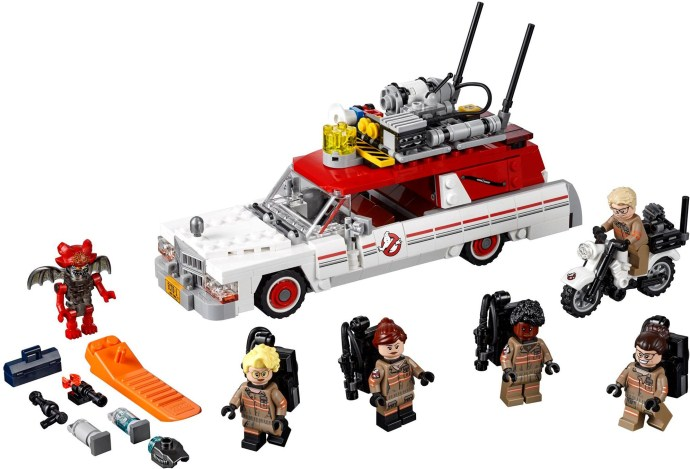 75828 1 ecto 1 2 brickset lego set guide and database. Black Bedroom Furniture Sets. Home Design Ideas