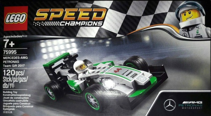 Mercedes Petronas F1 Team Gift Set Brickset Lego Set