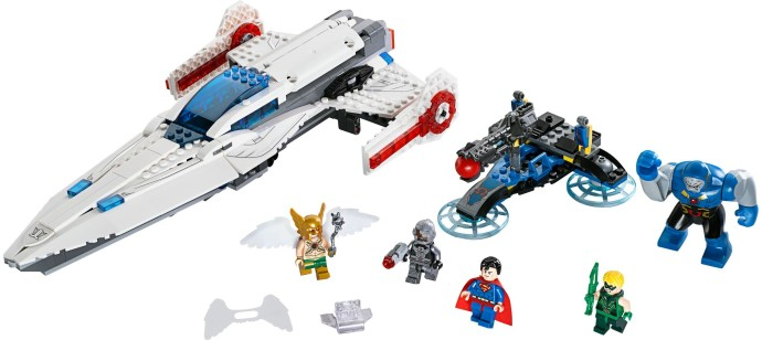 Lego 76028 Darkseid Invasion image