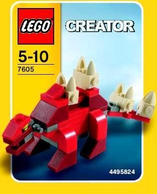 Lego 7605 Stegosaurus image