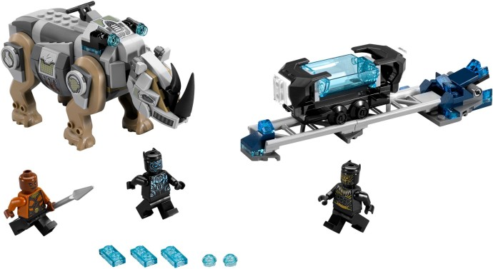 LEGO 76099: Rhino Face-Off by the Mine