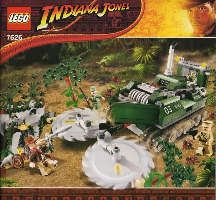 indiana jones the lost temple