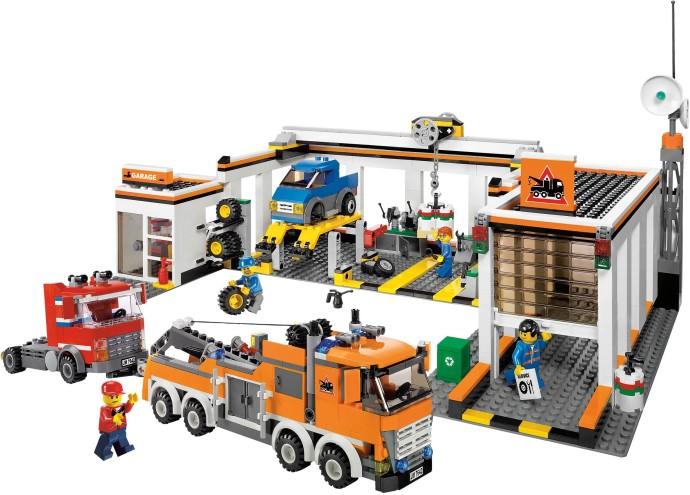 7642 1 Garage Brickset Lego Set Guide And Database