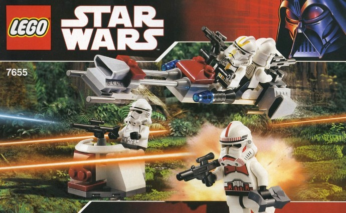 Clone Battle Pack 2012 Clone Troopers Battle Pack