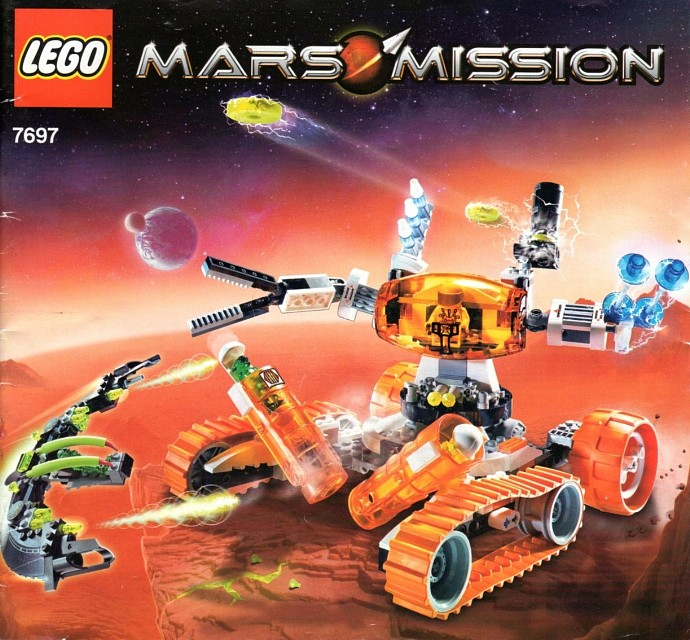 Space Mars Mission Brickset Lego Set Guide And Database
