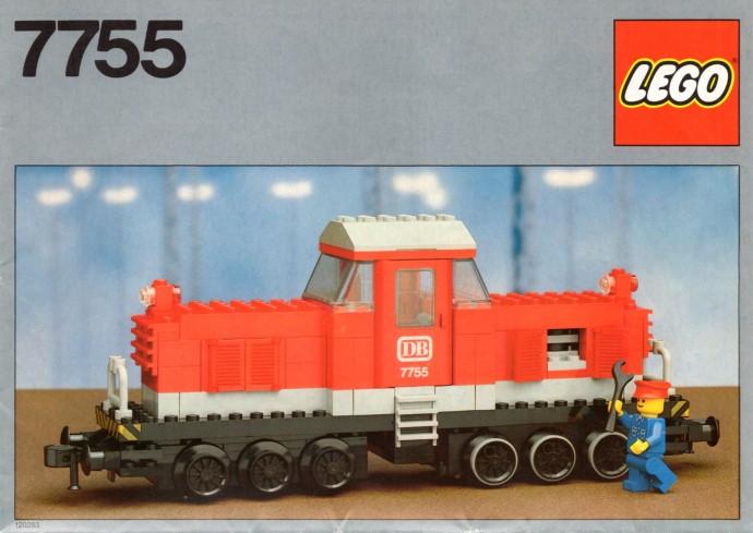 Lego 7755 Diesel Heavy Shunting Locomotive image