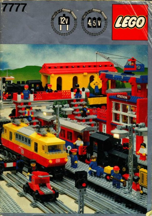 Lego 7777 Trains Ideas Book image