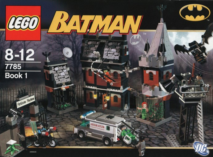 7785 10937 And 70912 Combine To Make The Ultimate Arkham Asylum