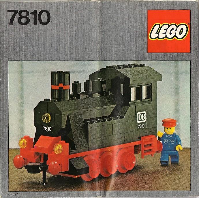 Lego 7810 Push-Along Steam Engine image