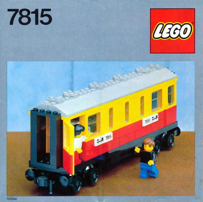 Изображение набора Лего 7815 Passenger Carriage / Sleeper