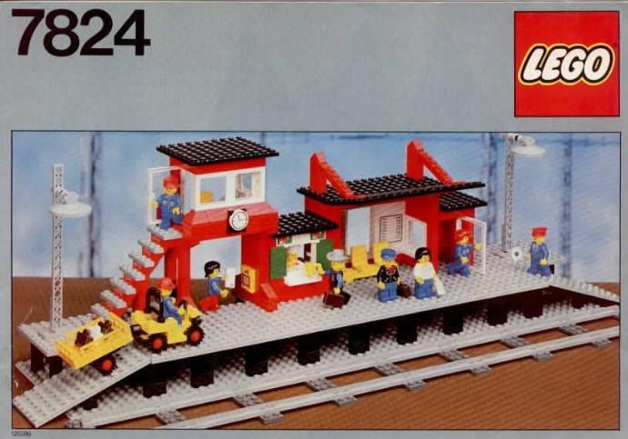 Lego 7824 Railway Station image