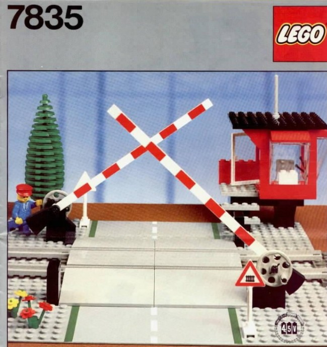 Lego 7835 Road Crossing image