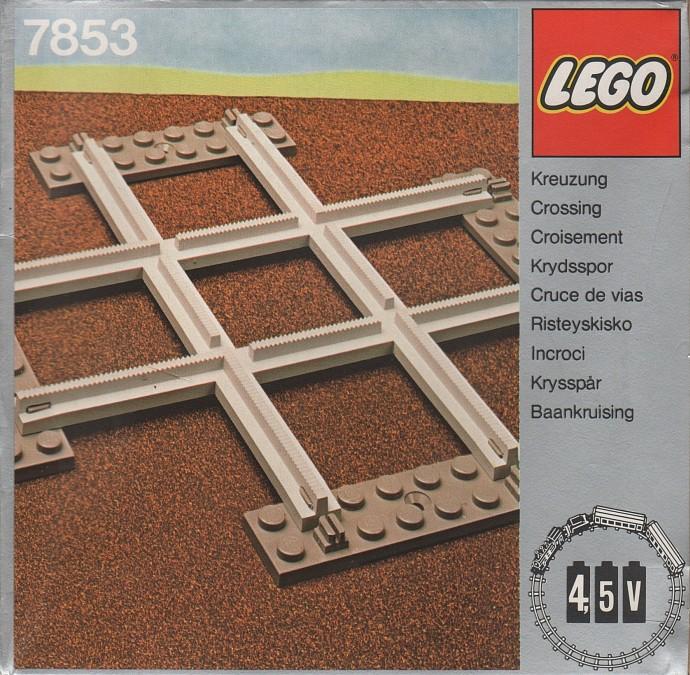 Lego 7853 Crossing, Grey 4.5 V image