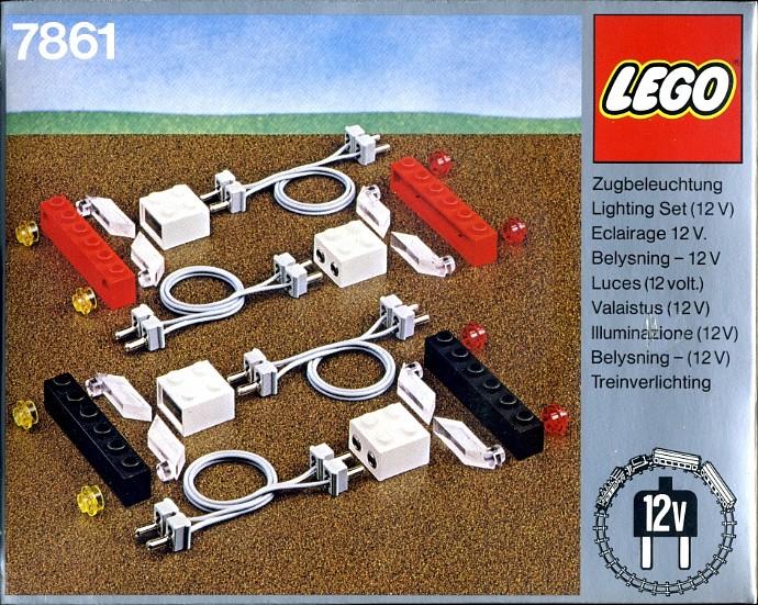 7861-1: Lighting Set Electric 12 V   Brickset: LEGO set guide and database
