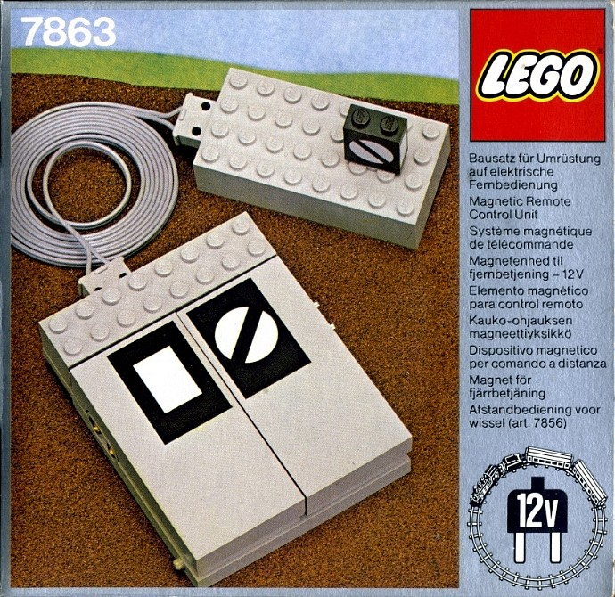 7863-1: Remote Controlled Point Motor 12 V | Brickset: LEGO set guide and  database