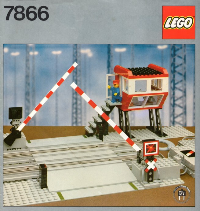 Lego 7866 Remote Controlled Road Crossing 12 V image