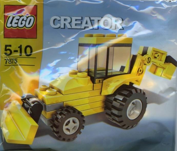 Lego 7875 Backhoe image