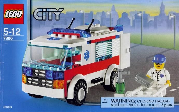 City Tagged Ambulance Brickset Lego Set Guide And Database