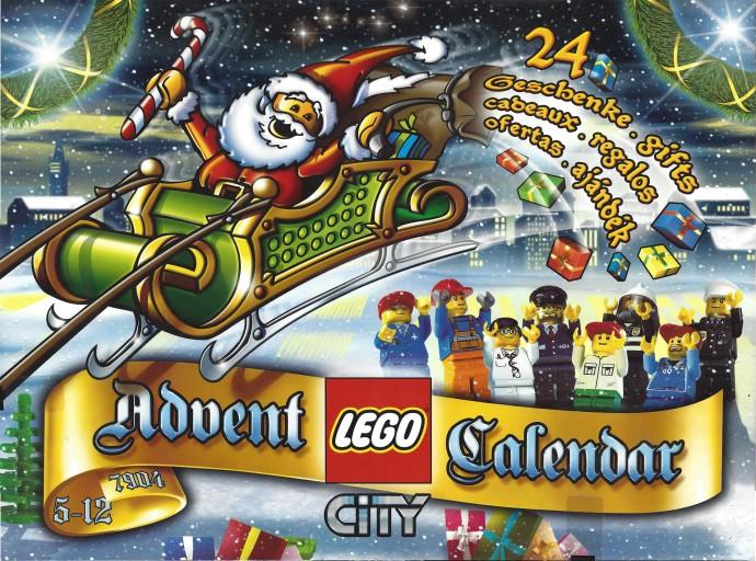 Изображение набора Лего 7904 City Advent Calendar