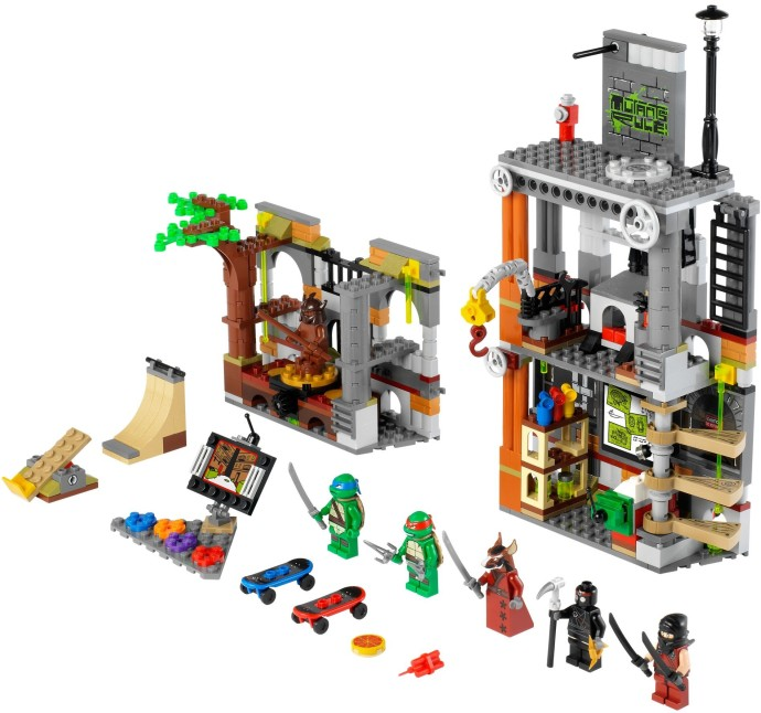 Teenage Mutant Ninja Turtles | Brickset: LEGO set guide ...
