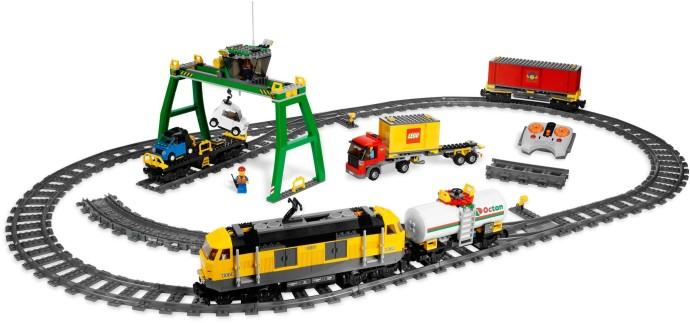 7939 1 Cargo Train Brickset Lego Set Guide And Database