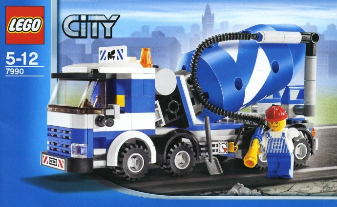 7990 1 Cement Mixer Brickset Lego Set Guide And Database