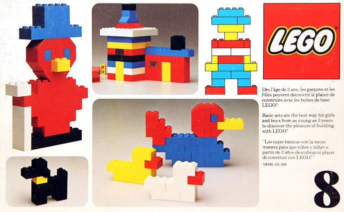 Basic Lego Building Blocks