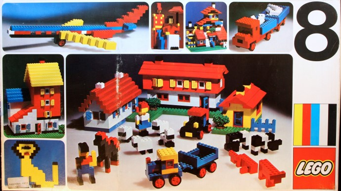 Изображение набора Лего 8 Basic Set #8