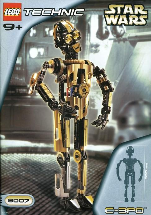 8007 1 c 3po brickset lego set guide and database - Croiseur interstellaire star wars lego ...