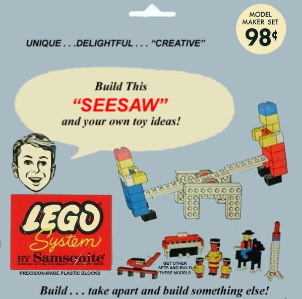 Изображение набора Лего 803 Seesaw