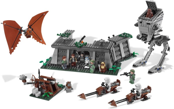 8038 1 The Battle Of Endor Brickset Lego Set Guide And Database