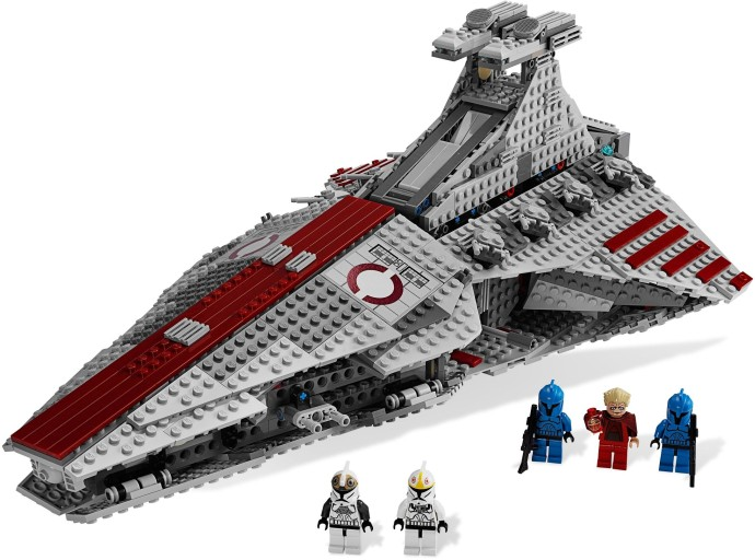 8039 1 venator class republic attack cruiser brickset lego set guide and database. Black Bedroom Furniture Sets. Home Design Ideas