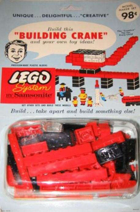 Изображение набора Лего 804 Building Crane