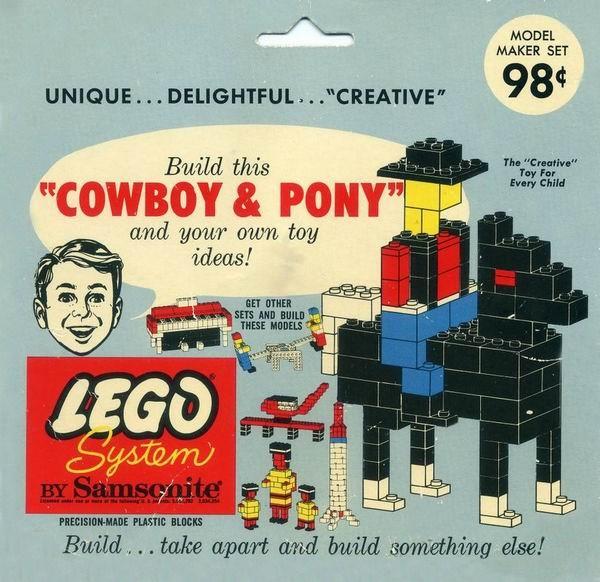 Изображение набора Лего 806 Cowboy & Pony