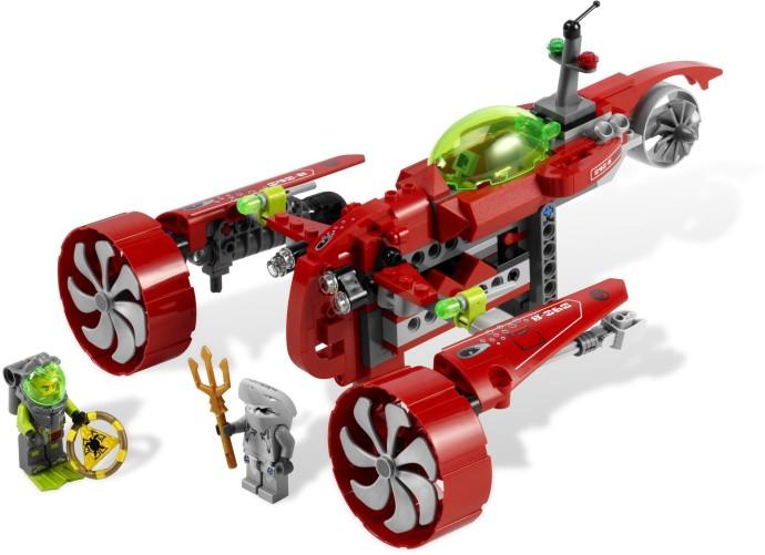 lego atlantis exploration hq instructions