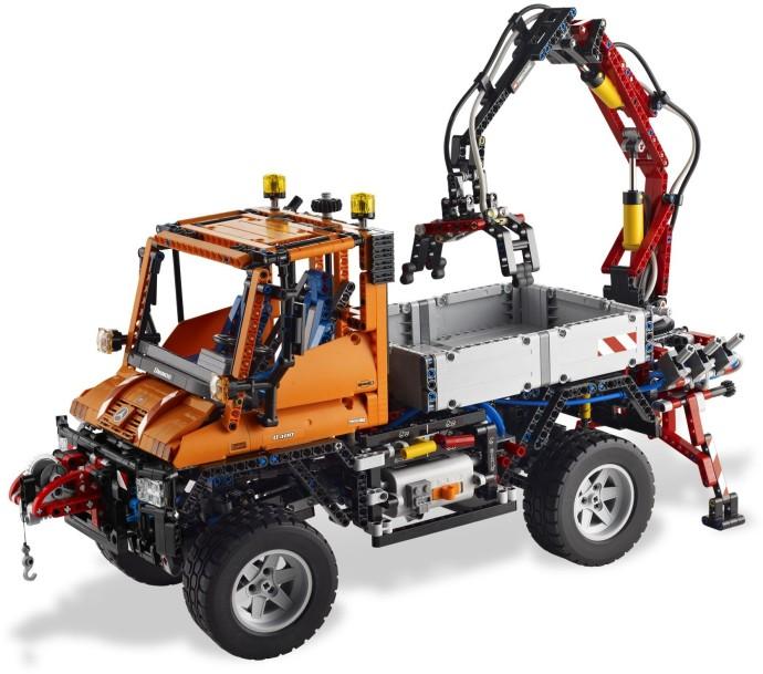 8110 1 mercedes benz unimog u 400 brickset lego set. Black Bedroom Furniture Sets. Home Design Ideas